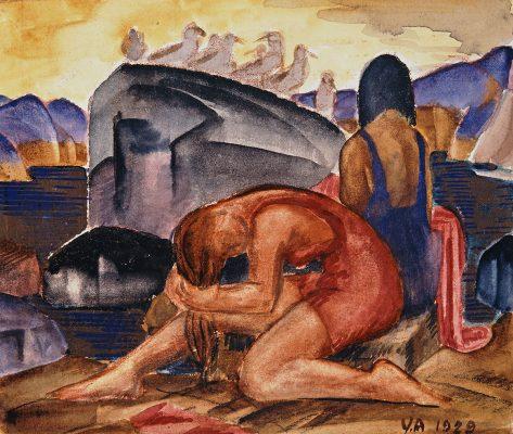 Victor Arnautoff, Bathers, 1929