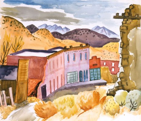 Margaret Bruton, Main Street - Gold Hill,