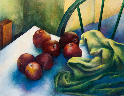John Mottram - Still Life with Apples, slide