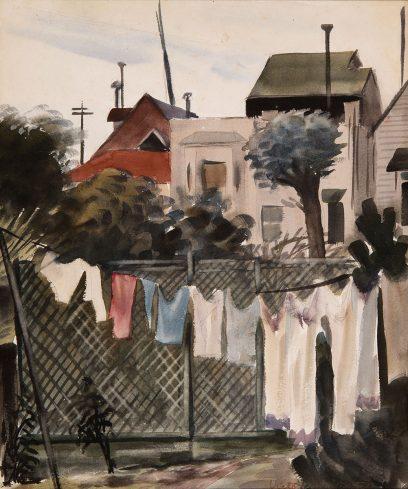 Victor Arnautoff – Clothesline