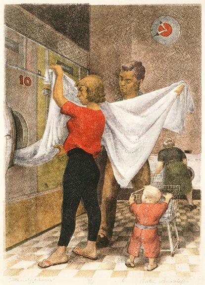 Victor Arnautoff - Family Chores