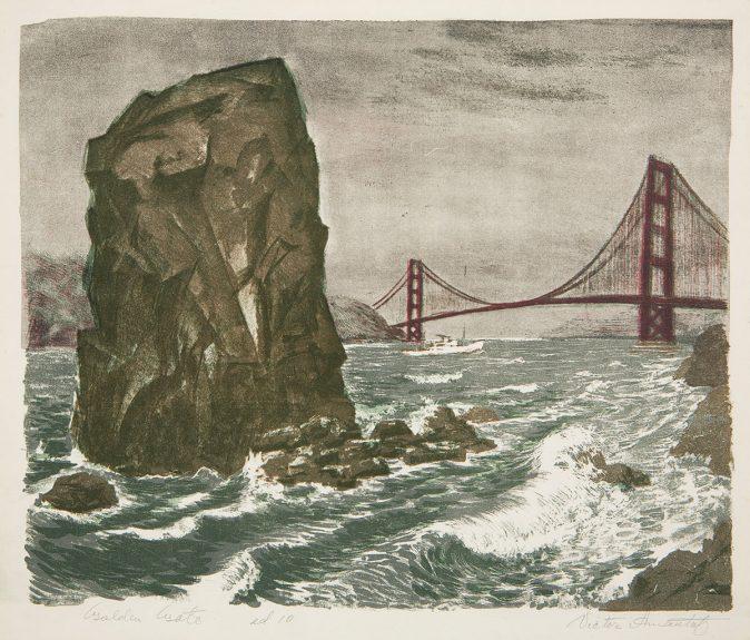Victor Arnautoff-Golden Gate