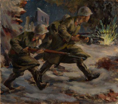 Victor Arnautoff – Russian Soldiers