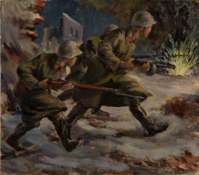 Victor Arnautoff - Russian Soldiers
