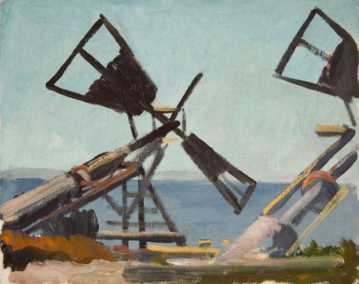 Victor Arnautoff - Windmills