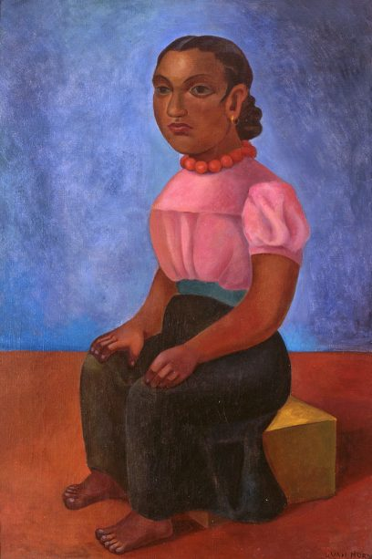 Lucretia Van Horn – Seated Woman