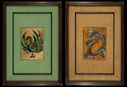 Betty F. Helfen – Phoenix and Dragon