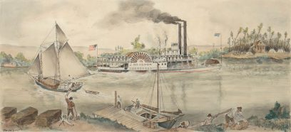 Otis Oldfield – San Joaquin River Transportation in the 1850s