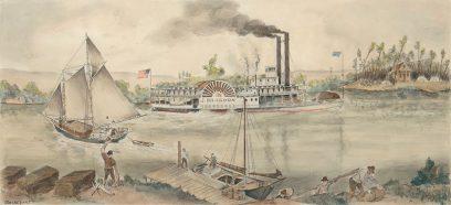 Otis Oldfield – San Joaquin River Transportation in the 1850s