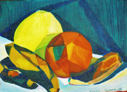 Helen Clark Oldfield – Triangulated Still Life