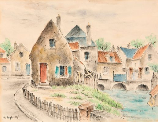 Henry Sugimoto - Pont Chartres, France