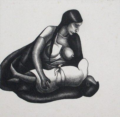 Henrietta Shore, Mexican Mother