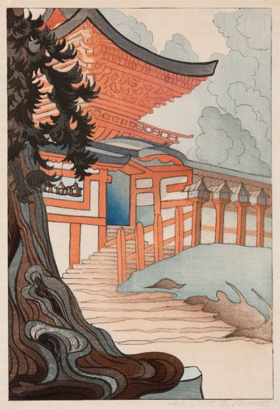 Elizabeth Eaton Burton - Kasuga Taisha Shrine, Nara