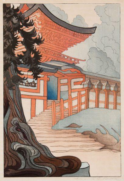 Elizabeth Eaton Burton – Kasuga Taisha Shrine, Nara