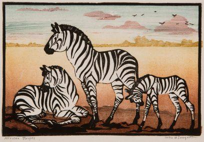 Helen M. Seegert – African Stripes