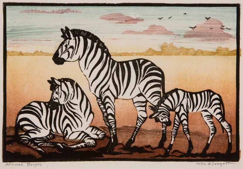 Helen M. Seegert - African Stripes