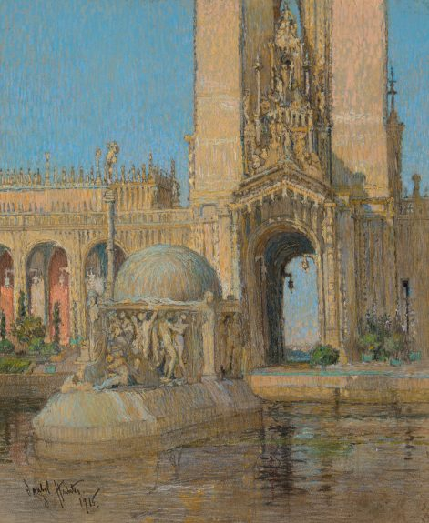 Isabel Hunter - The Court of Abundance, Panama-Pacific International Exposition, 1915