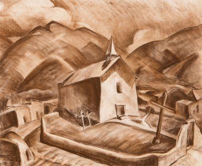 Anna Katharine Skeele – Untitled (New Mexico Church)