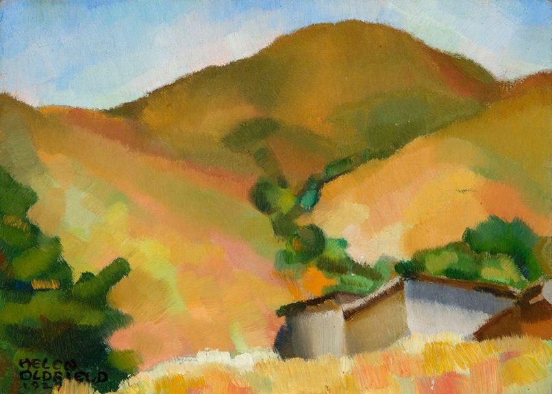 Helen Clark Oldfield - Lone Pine Hills