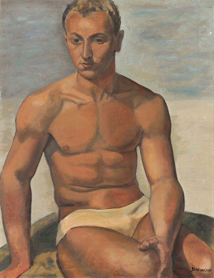 Dorothy Winslade - Portrait of a Male Nude
