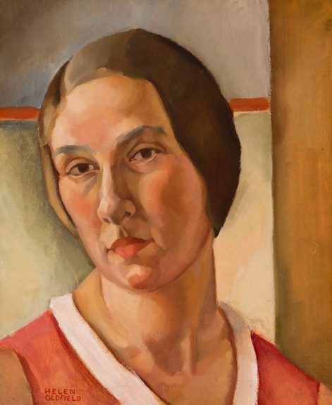 Helen Clark Oldfield - Self Portrait - A Month After Marriage