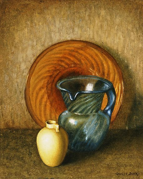 Leslie Buck - Still Life With Pitcher