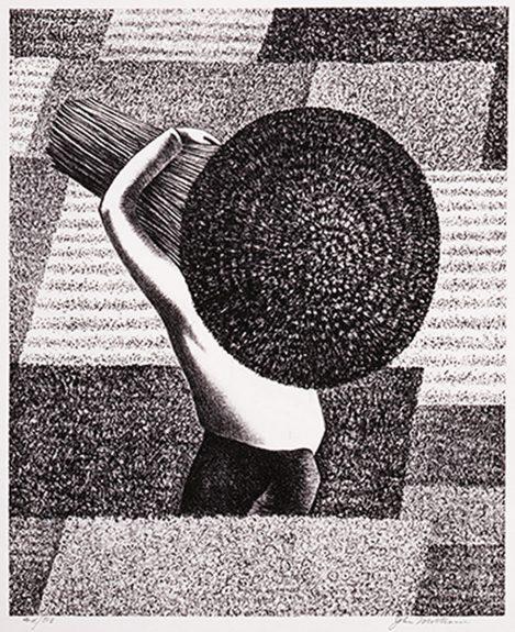 John Mottram - Untitled (Figure in a Field)