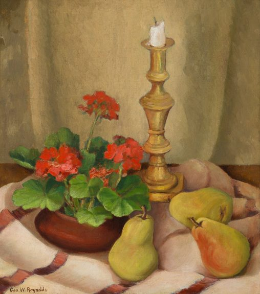 George Westfall Reynolds - Still Life with Pears