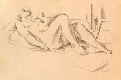 Grace Clements – Reclining Nude