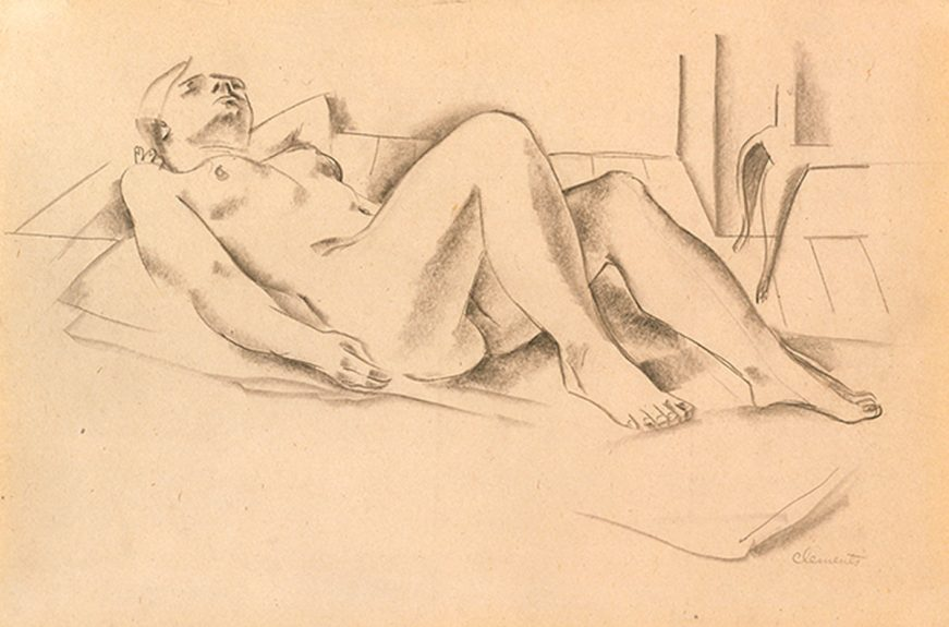 Grace Clements - Reclining Nude