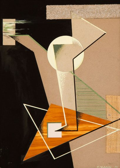 Frederick I. Kann – Geometric Composition