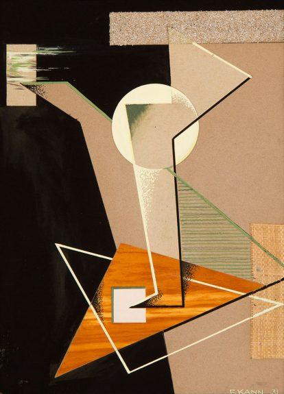 Frederick I. Kann - Geometric Composition