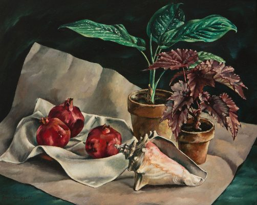 Jean Donald Swiggett - Pomegranate and Conch