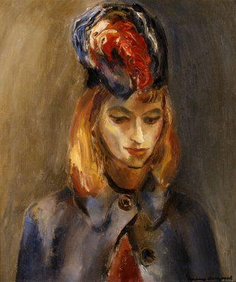 Nadine Overpack - La Dame a la Plume Rouge