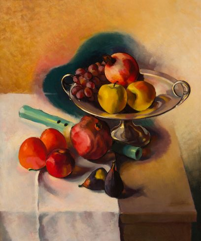 Stanton Macdonald Wright – Still Life with Flute