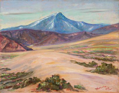 Torajiro Watanabe – Across the Dunes – California