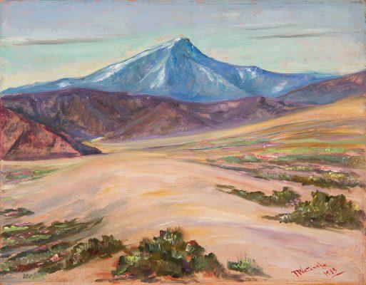 Torajiro Watanabe - Across the Dunes - California