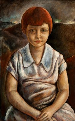 Jose Moya del Pino - The Little Old Girl