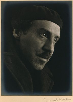 Edward Weston - Portrait of Otis Oldfield