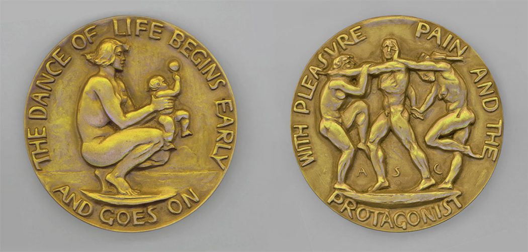 Alexander Stirling Calder, Life as a Dance, Obverse and Reverse