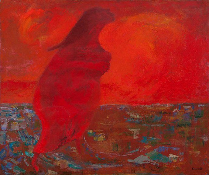 Robert Kennicott - Lady in Red