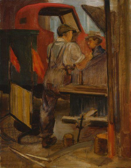Victor Arnautoff - Untitled (City Workmen)