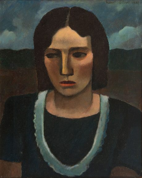 Robert Gilbert - Portrait of a Woman