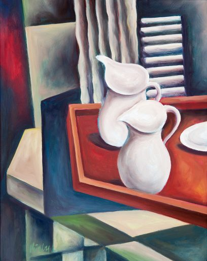 Jeffrey Kirby – Still Life With Two Pitchers