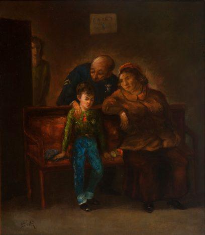 Jack Levitz  – Untitled (Police Presence)
