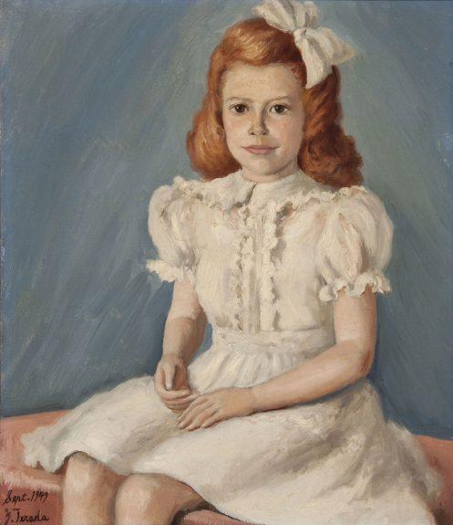 Edward Takeo Terada - Portrait of a Girl