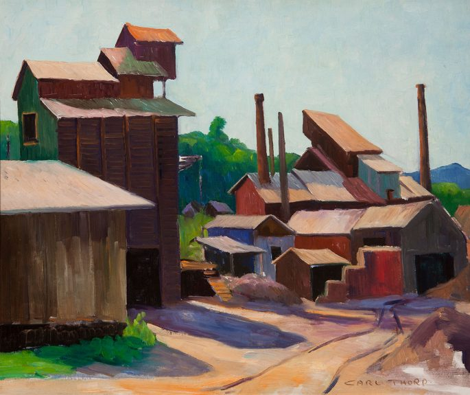 Carl Thorp - Gold Mine, Mother Lode