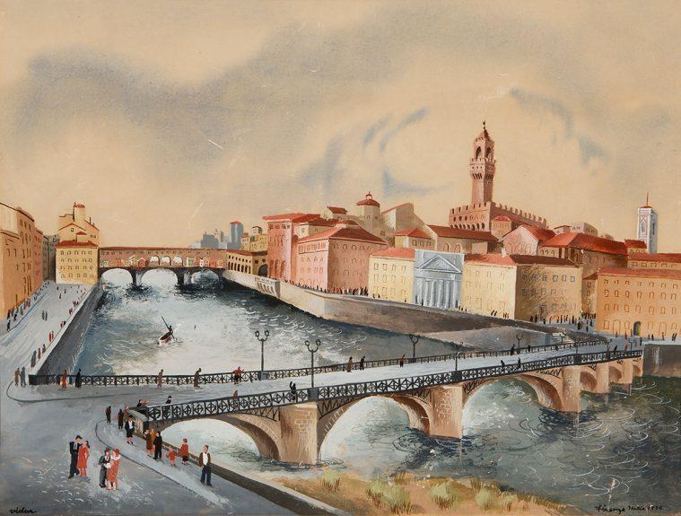 Frede Vidar - Firenze Italia