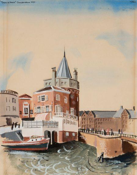 Frede Vidar - Tower of Tears, Amsterdam