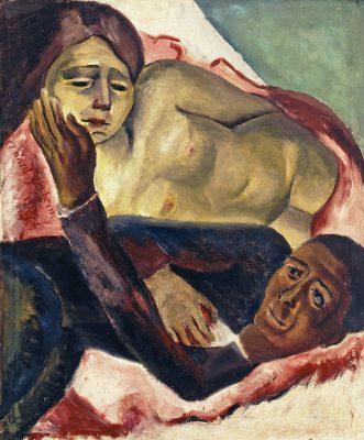 Bernard Baruch Zakheim - Untitled (La Douleur d'Amour aka Envy)